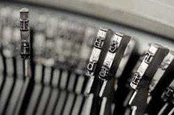 Die Schreibmaschine wurde auch in der Justiz vom PC ersetzt.
