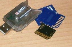 Dieses Teil müssen Sie zerlegen, um den NAND Flash Reader zu nutzen.