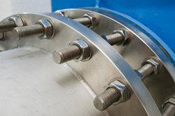 Metallbauer erstellen komplexe Konstruktionen.