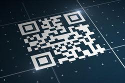 Mit einem QR-Scanner erhalten Sie sofort Informationen aus dem Internet.