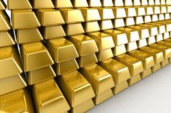 Nationalbanken besitzen neben Devisen viele Tonnen Gold.