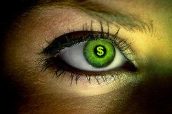 Farbige Kontaktlinsen sind ein Hingucker