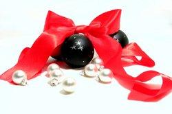 Weihnachtliche Fotos können als Hintergrundbilder dienen.