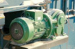 Induktionsmotor für die Holzverarbeitung
