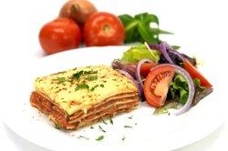 Lasagne perfekt zubereitet