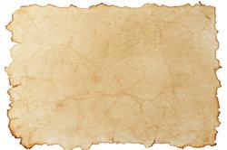 Das Alter eines Papiers können Sie oft ganz leicht selbst bestimmen.