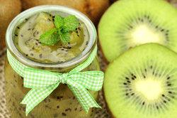 Leckere Kiwi-Marmelade selber machen.