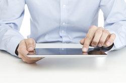 Verbinden Sie sich mit wenigen Klicks mit dem Internet auf Ihrem iPad.