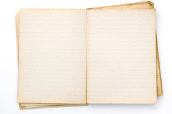 Ein Tagebuch hilft, Klarheit zu erlangen.
