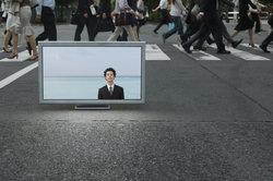 Outdoor-Fernseher lassen sich überall im Freien einsetzen.