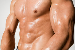 Allein mit Joggen kam dieser Muskelaufbau nicht zustande.