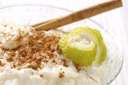 Milchreis schmeckt auch während einer Diät.