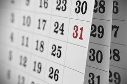 Ein Kalender mit vielen Funktionen