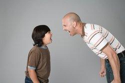 Streit kann die Familie gefährden.