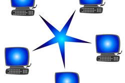 WLAN-Router ermöglichen drahtlose Vernetzungen.