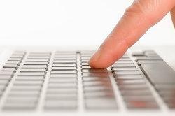 Zehnfingersystem mit dem Tastschreibprogramm