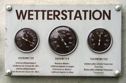 Eine Wetterstation ist in einer etwas einfacheren Ausführung ganz leicht zu bauen.
