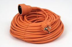 Wickeln Sie das Kabel vollständig ab, bevor Sie es benutzen.