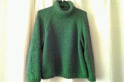 Vorschlag für ein leicht zu arbeitendes Pullover-Modell