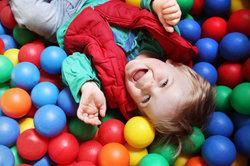 Bunte Bälle: ideal für Farbenspiele