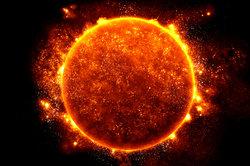 Die Energie der Sonne kann zum Heizen genutzt werden.
