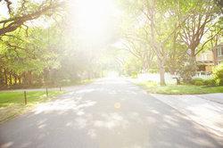Praktisch für Anwohner - die Anliegerstraße