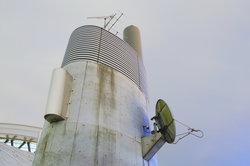 Der Receiver muss an die Sat-Antenne angeschlossen werden.