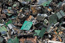 Im Elektroschrott sind die Elemente des halben Periodensystems vertreten.