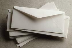 Briefe werden auch als Korrespondenz bezeichnet.