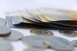 Ein Produktionsfaktor - Geld in Form von Kapital