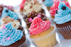 Cupcakes sind nicht nur bei Kindern sehr beliebt.