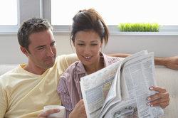 Zeitungsartikel können Sie auch im Internet suchen.