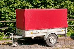 Ein Anhänger für Transportaufgaben