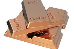 Kupfer hat eine hohe Dichte.