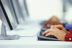 Der Computer eignet sich auch für die Anwendung im Büro.