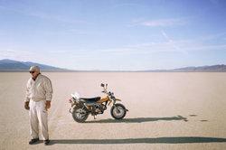 Das Motorrad eignet sich auch für tolle Ausflüge.