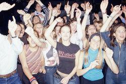 Eventmanager organisieren zum Beispiel Konzerte.