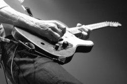 Die E-Gitarre ist das Instrument der 50er.
