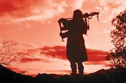 Schottische Musik ist auch vom Dudelsack geprägt.