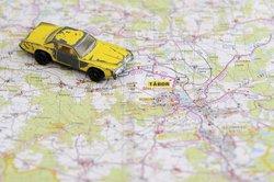 Dank Navigation brauchen im Auto keine Karten mehr verwendet zu werden.