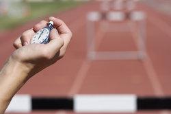 Handstoppung wird in der professionellen Leichtathletik kaum noch angewendet.
