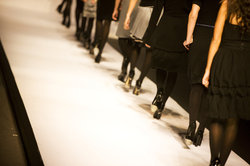 Exklusive Mode stammt oft aus Italien.