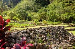 Trockenmauern sind für Gärten am Hang ideal.