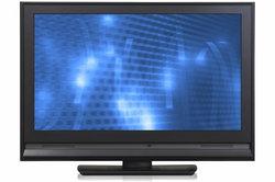 Der Grundig-LCD-Fernseher ist recht schick.
