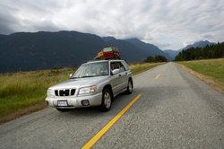 Der SUV gehört zu den größeren Fahrzeugen im Straßenverkehr.
