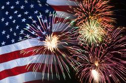 Feuerwerk an Silvester ist für die USA eher untypisch.