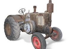 Lanz Bulldog mit 2-Takt-Dieselmotor