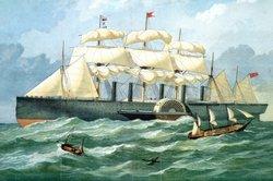 Die Anfänge der Dampfschifffahrt