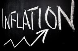 Inflation bedeutet die Entwertung des Geldes.