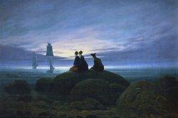 Beispiele in der Kunst der Romantik zeigen in der Bildanalyse ähnliche Motive.